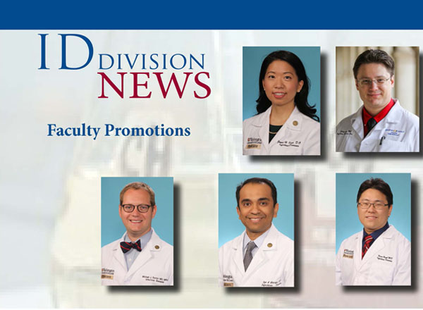 Congratulations to junior faculty recently promoted! - Infectious