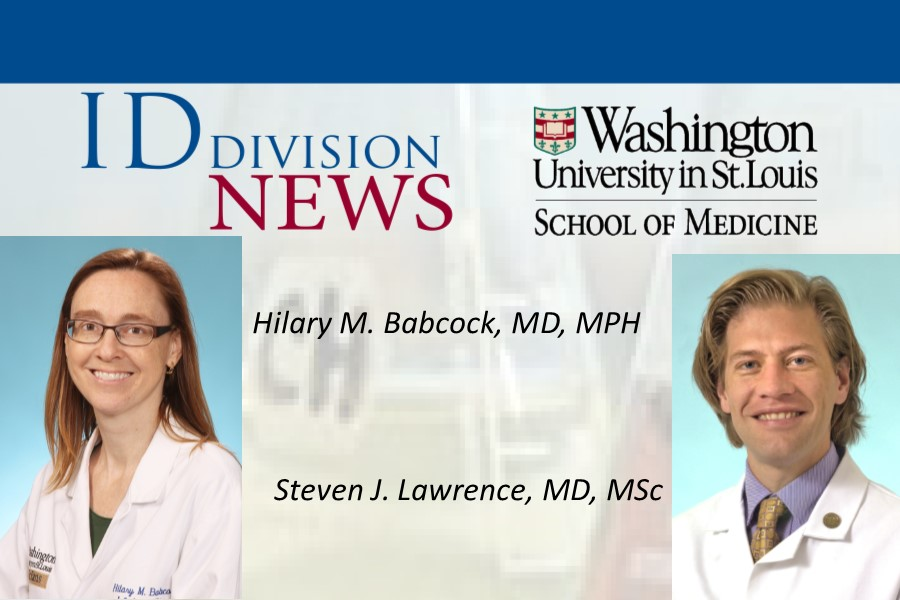 Infectious Diseases Society of America honors faculty as